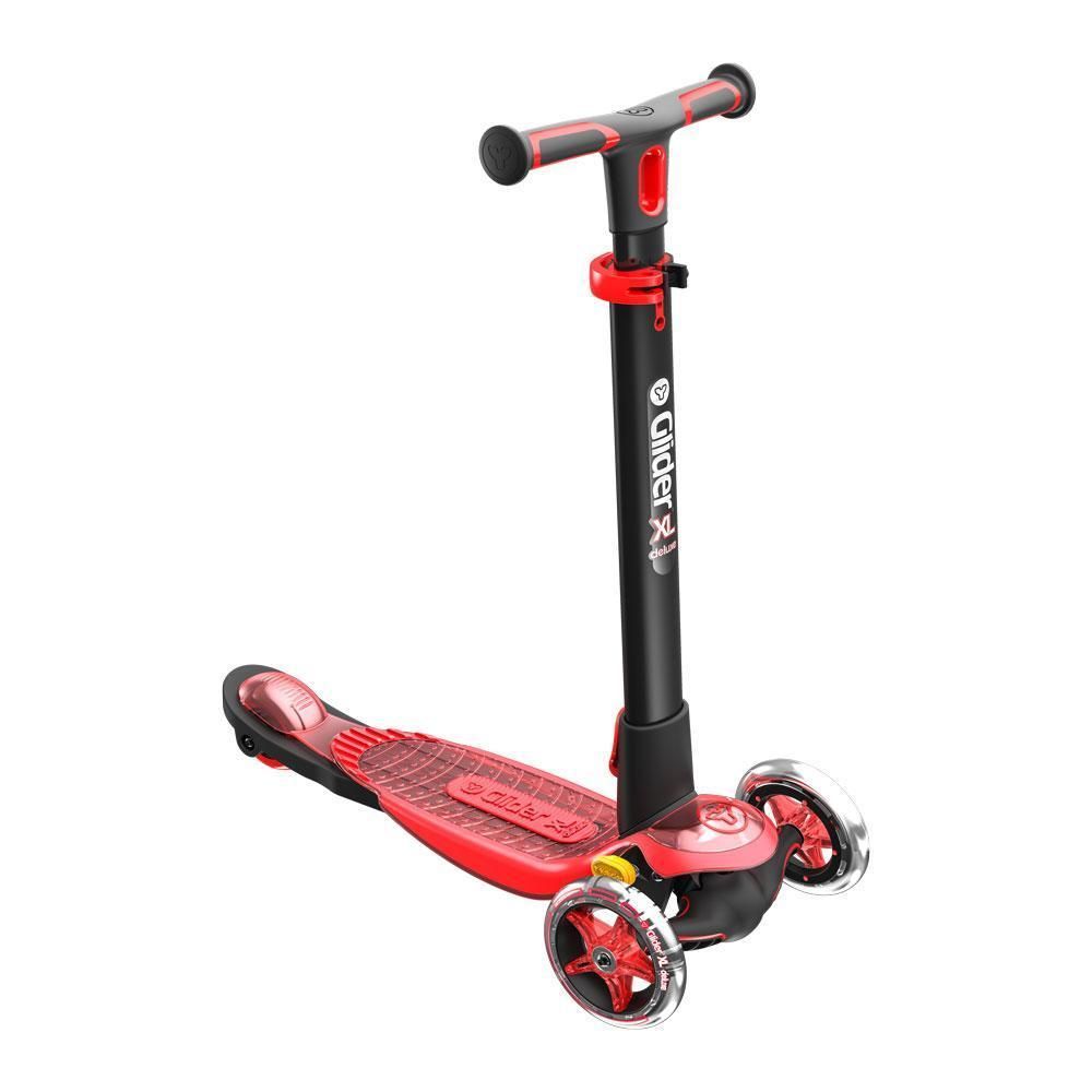 Yvolution Y Glider Xl Deluxe Refresh Scooter In Red
