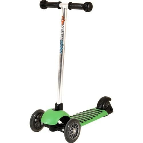 Yvolution Y Bike Glider Scooter in Green