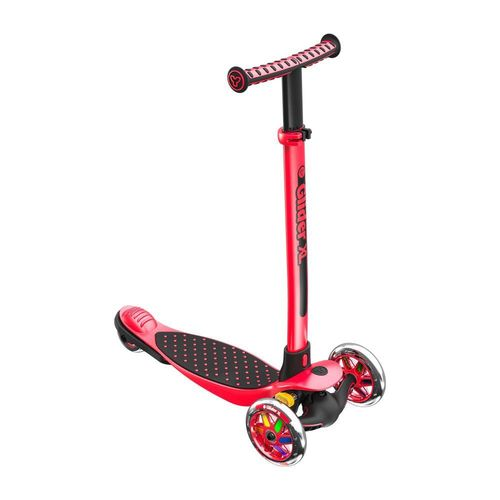 Yvolution Y Glider XL Refresh Scooter in Red