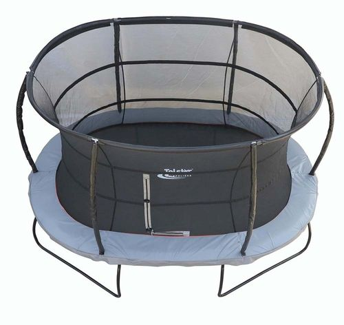 7ft x 10ft Oval Telstar Jump Capsule MK3 Trampoline Package Including Cover and Ladder