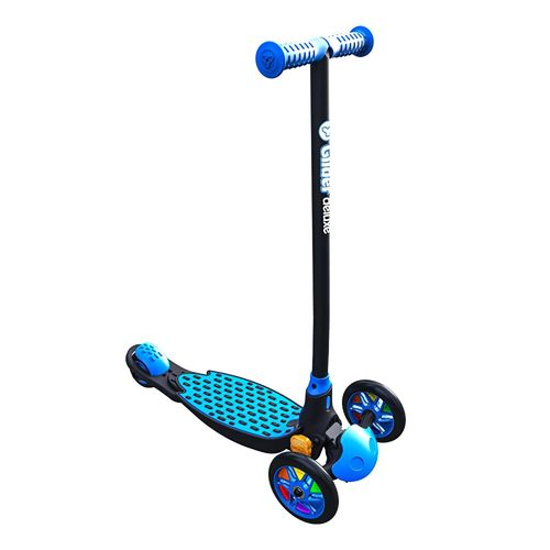 Yvolution Y Glider Deluxe Refresh Scooter in Blue