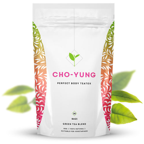 Cho-Yung Perfect Body Green Tea - Detox Tea - Vegan