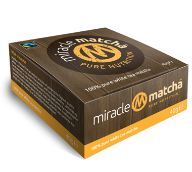 2 x 40g Miracle Matcha Pure White Tea Powder - 2 tins (80g) SPECIAL OFFER