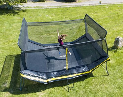 Telstar Elite 12.5ft x 17ft V Trampoline and Enclosure Package including Installation